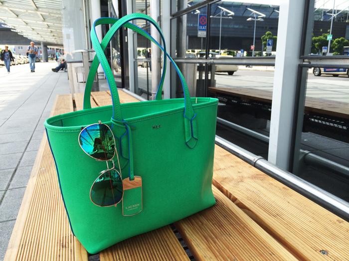 Ralph Lauren Green bag